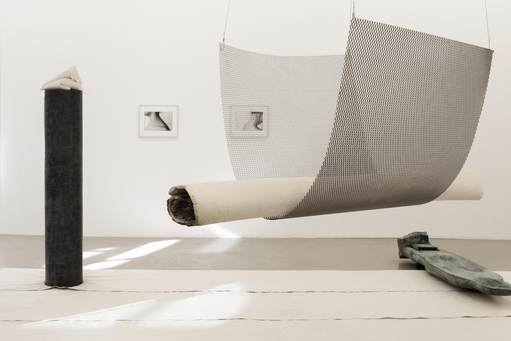Vue de l'exposition Katinka Bock, Radio / Tomorrow's Sculpture à l'IAC du 5 octobre 2018 au 20 janvier 2019