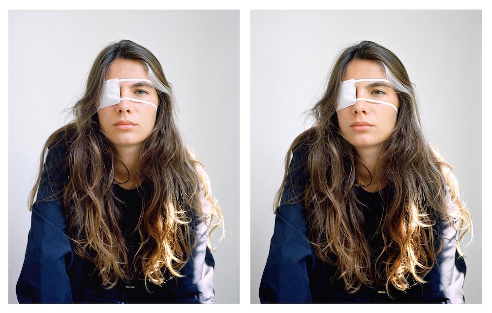 Laurent Montaron, Télé-vision #1 et #2, 2018, photographies couleur, 80 x 63 cm chaque, courtesy de l'artiste et de la galerie Anne-Sarah Bénichou