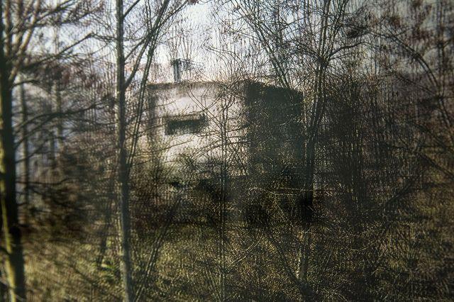 Marc Lathuillière,Le transformateur (détail), série Fractal Spaces (2013-18) de Marc Lathuillière, vue de l'exposition collective « France augmentée », Galerie Binome, octobre-décembre 2017.
