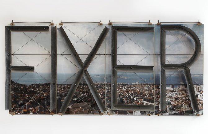 Richard Baquié, FIXER, 1994, Collection Frac Franche-Comté © Richard Baquié, photo : Pierre Guenat