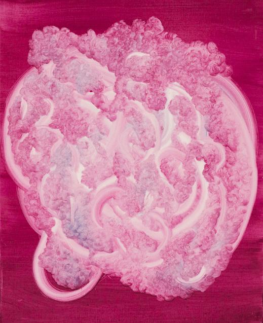 Thakone Soum, Sans titre, 100 x 80 cm. Courtesy artiste