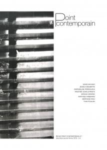 Revue Point contemporain #11 - décembre-janvier-février 2019