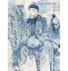 Norbert Waysberg, People in subway