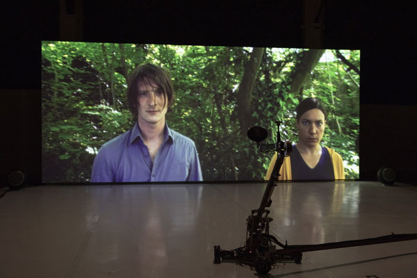 Thierry Fournier, Seul Richard, installation vidéo 2018. Courtesy artiste