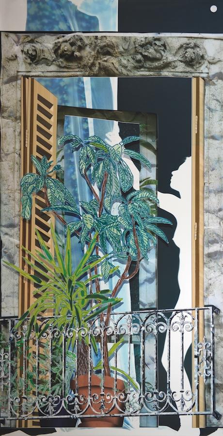 Baptiste Rabichon, 82 Bvd Saint-Marcel, 2017. Épreuve chromogène unique, 250 x 127 cm.Série Les balcons, 2017-2018.Courtesy artiste