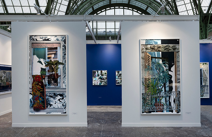 Baptiste Rabichon, En ville exposition personnelle Grand Palais Paris Photo 2018 Commissaire : François Cheval - Production BMW Art et Culture Soutien : Gobelins école de l'image Tirages réalisés au Fresnoy-Studio national des arts contemporains Tourcoing