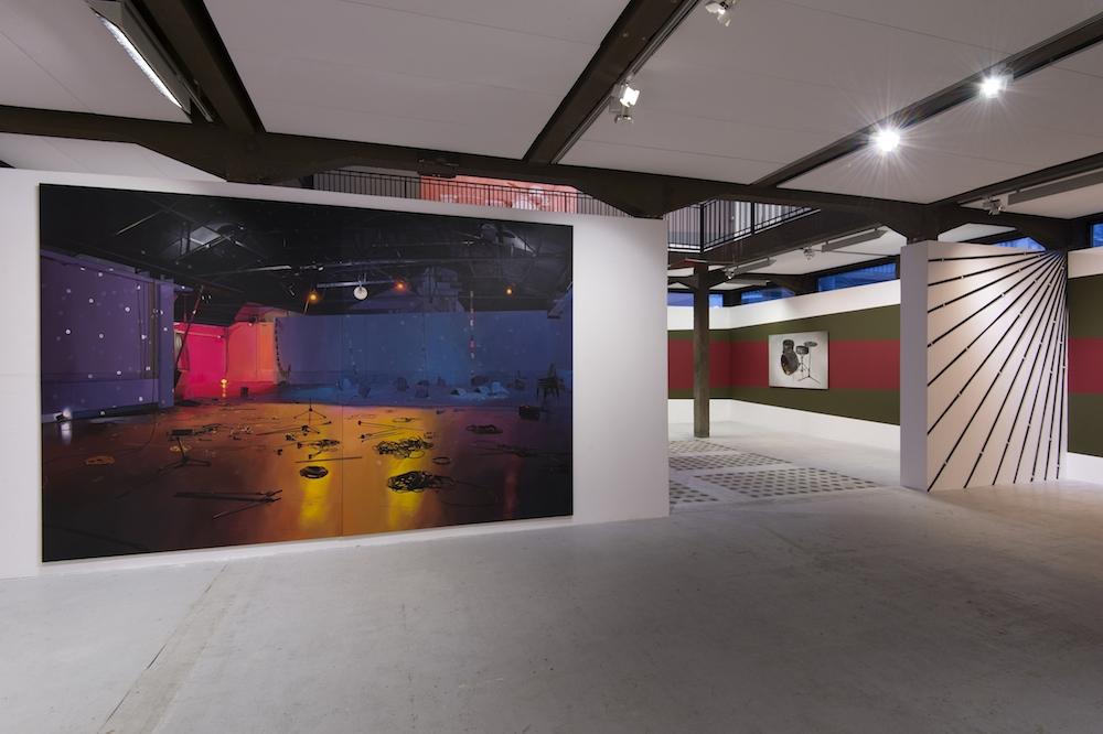 """Vue de l'installation """"Lambda Pictoris"""", Élodie Lesourd, FRAC Normandie Rouen © Marc Domage"""