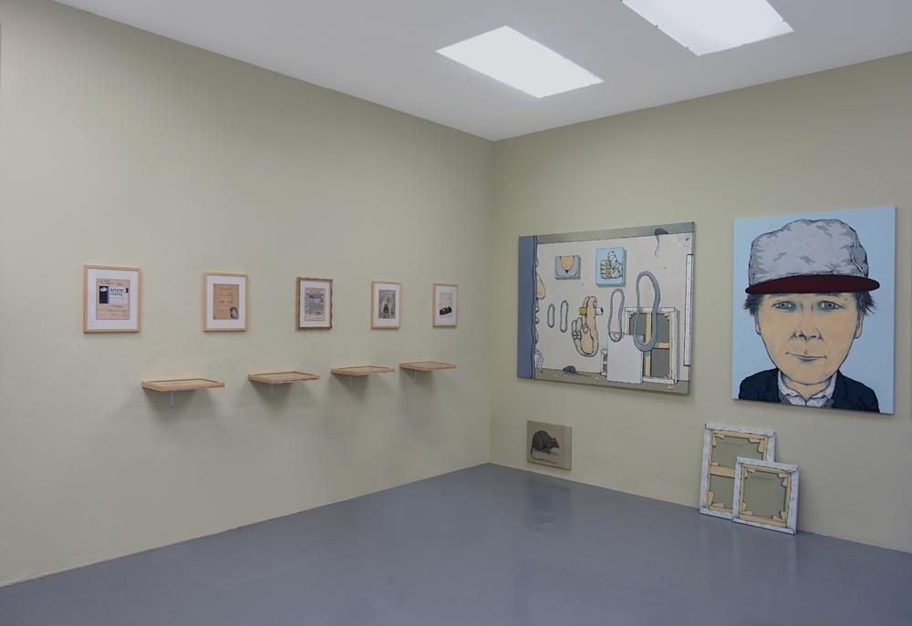 Vue d'exposition MERCI Galerie Bernard Jordan Paris