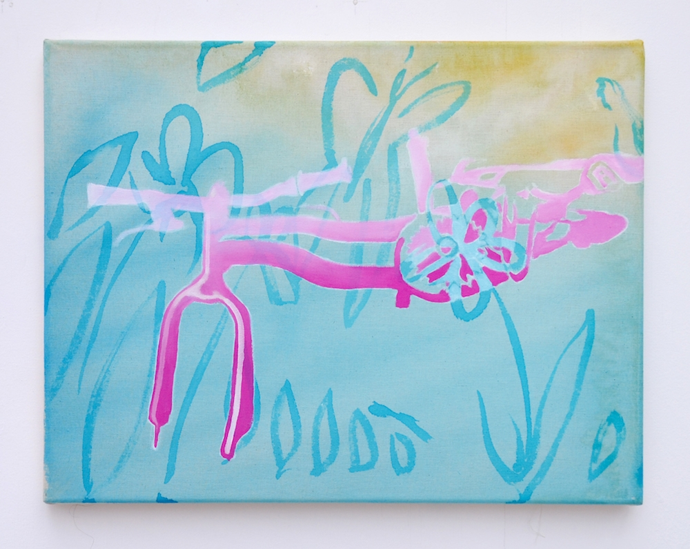 Hazel Ann Watling, Butterfly, exposition Traverse Galerie des Petits Carreaux, Saint Briac Sur Mer