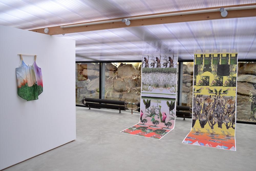 Hazel Ann Watling, exposition Traverse Galerie des Petits Carreaux, Saint Briac Sur Mer