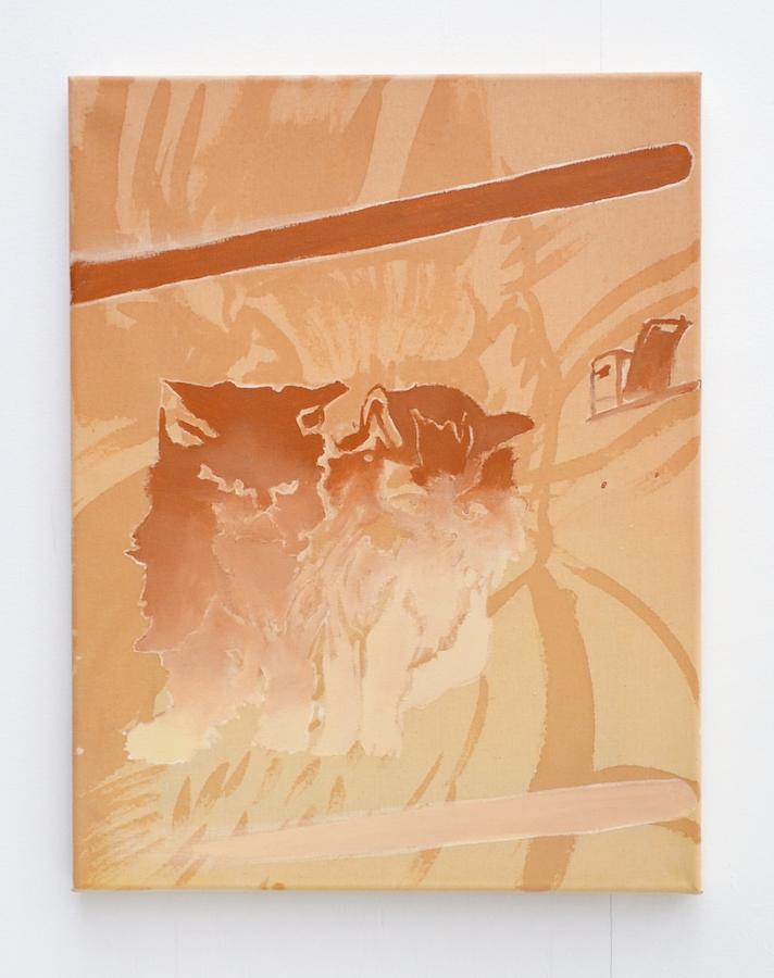 Hazel Ann Watling, Twins, exposition Traverse Galerie des Petits Carreaux, Saint Briac Sur Mer