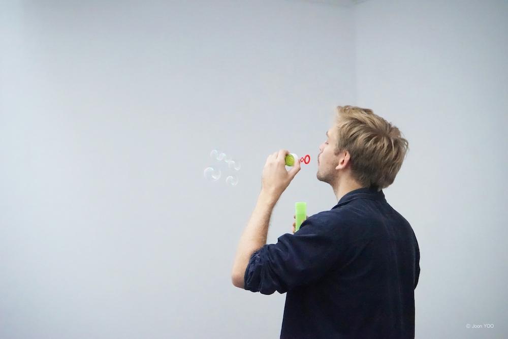 vue de l'exposition In a relationship de Joon-young Yoo, Galerie du CROUS Paris © Joon-young Yoo