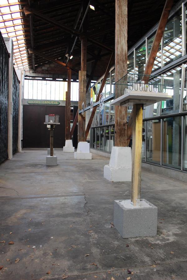 Antoine Nessi - Vue d'exposition SUBV(M)ERSION, Les Glacières, Bordeaux - Photos Emma Missal et Romain Vicari