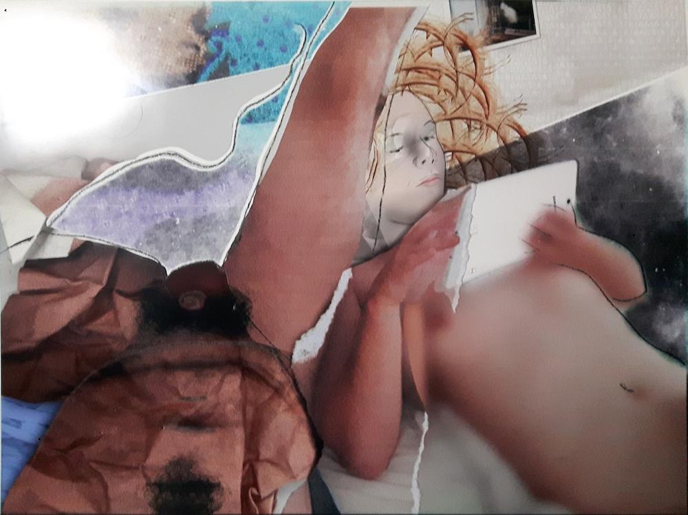 Baptiste Rabichon, Netflix, 2018. Epreuves chromogènes unique,170 x 127 cm©Baptiste Rabichon, courtesy Galerie Paris-Beijing