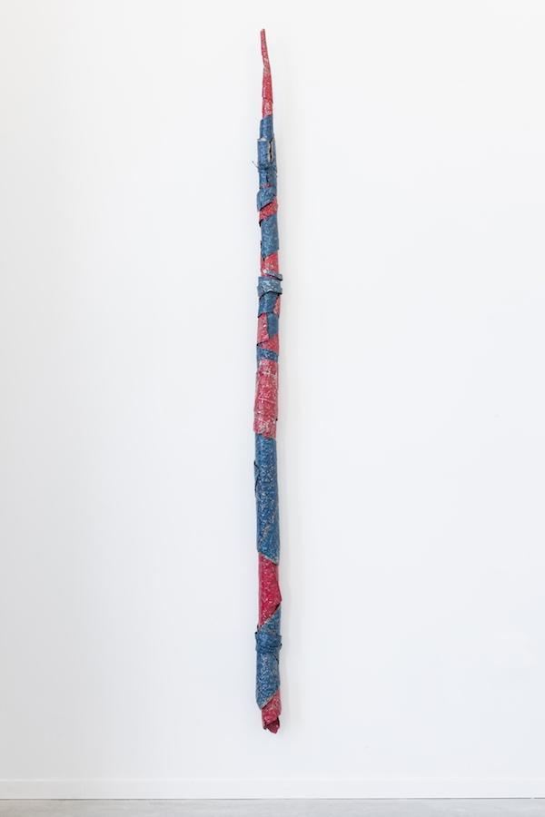 Benoit Travers, Ebrèchement boites à outils, 2017, 2 boites à outils en acier, 189 x 08 cm, © Photo Sylvain Bonniol