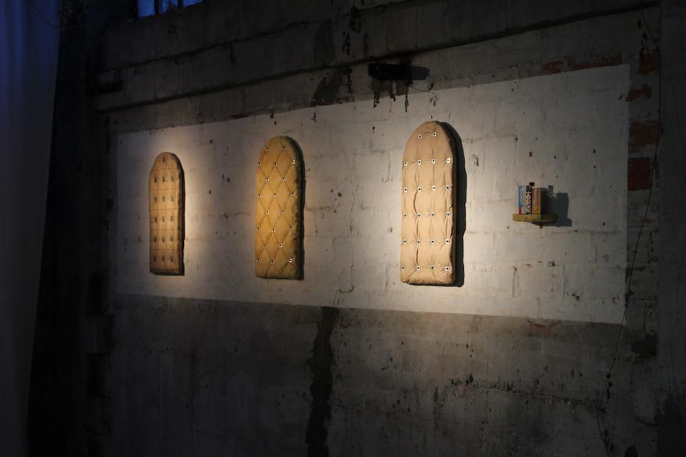 Charles Thomassin - Vue d'exposition SUBV(M)ERSION, Les Glacières, Bordeaux - Photos Emma Missal et Romain Vicari