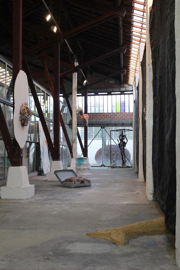 Vue d'exposition SUBV(M)ERSION, Les Glacières, Bordeaux - Photos Emma Missal et Romain Vicari