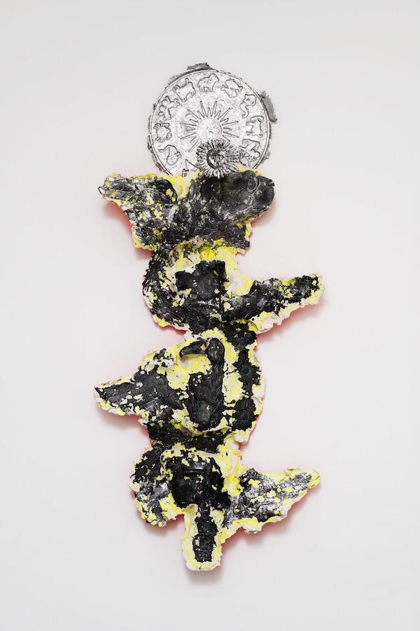 Jean-Baptiste Janisset - Les tétramorphes, 2019 165 x 76 14 cm - Plâtre et Plomb © Aurélien Molle, Courtesy Galerie Alain Gutharc