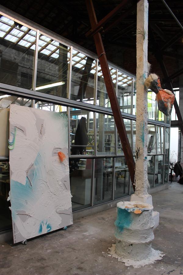 Romain Vicari - Vue d'exposition SUBV(M)ERSION, Les Glacières, Bordeaux - Photos Emma Missal et Romain Vicari