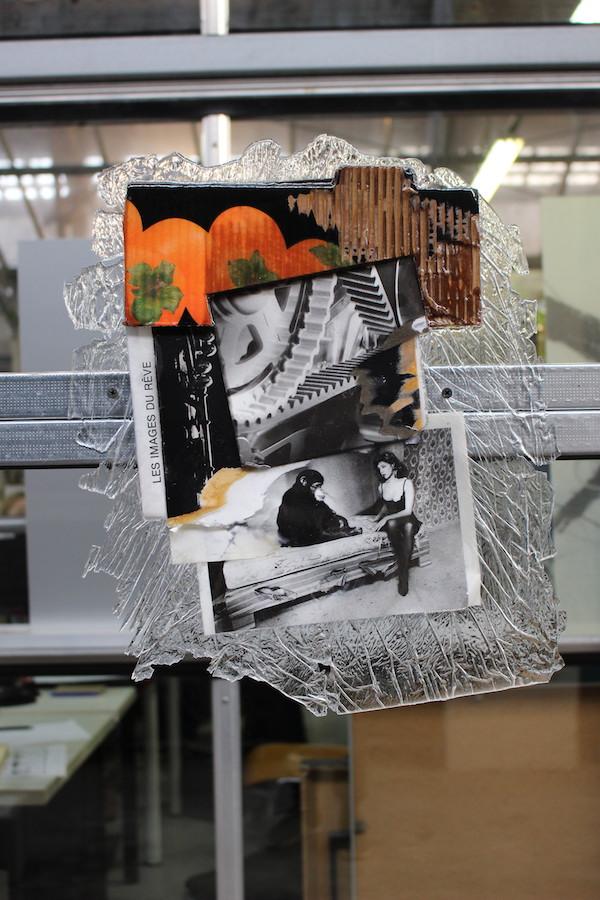 Victor Daamouche - Vue d'exposition SUBV(M)ERSION, Les Glacières, Bordeaux - Photos Emma Missal et Romain Vicari