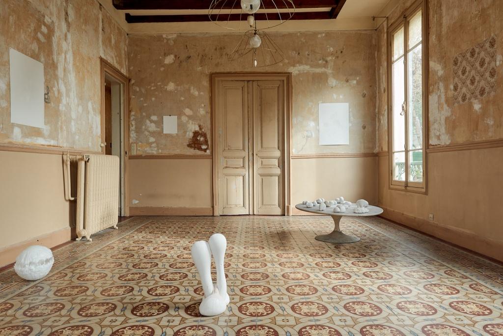 Vue d'exposition Galatée, corps ductile de Delphine Mogarra Photo © Anthony Lanneretonne pour Circa
