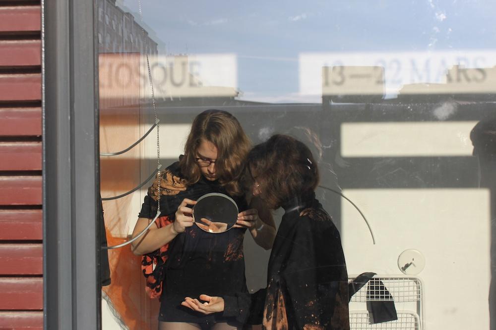 Fanny Gicquel, aquaria times - 21 mars 2019 - Transitoire le Kiosque Rennes