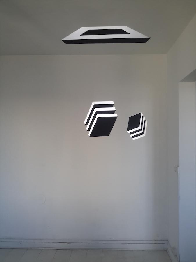 Gladys Nistor, objet de lumière 1, 2018. Technique mixte, dimensions variables Courtesy artiste