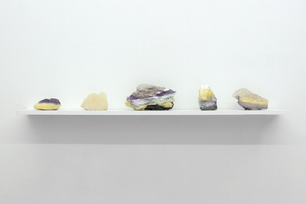 Vue de l'exposition Phenomena ultra de Jonathan Brechignac / commissariat Scandale Project - Présenté par La Peau de l'Ours du 16 au 28 février 2019 -Galerie Rivoli, Brussels - Belgium