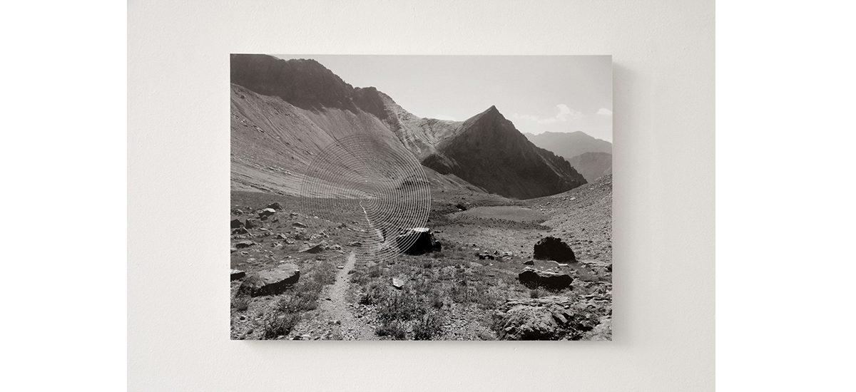 Strates, partitions du vide, exposition personnelle d'Harold Guérin