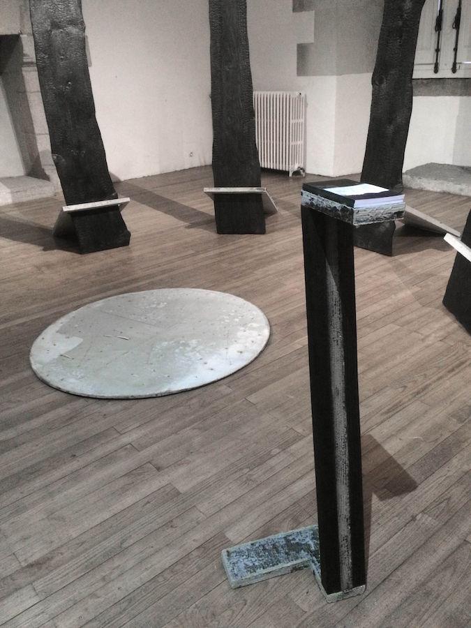 Wilfried Nail, exposition Itinerancia (rester dans le trouble) au Musée Dobrée, Nantes