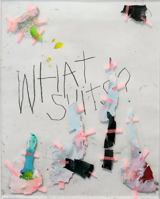 "Clara Citron, ""What about"", 24 x 18cm, 2018"