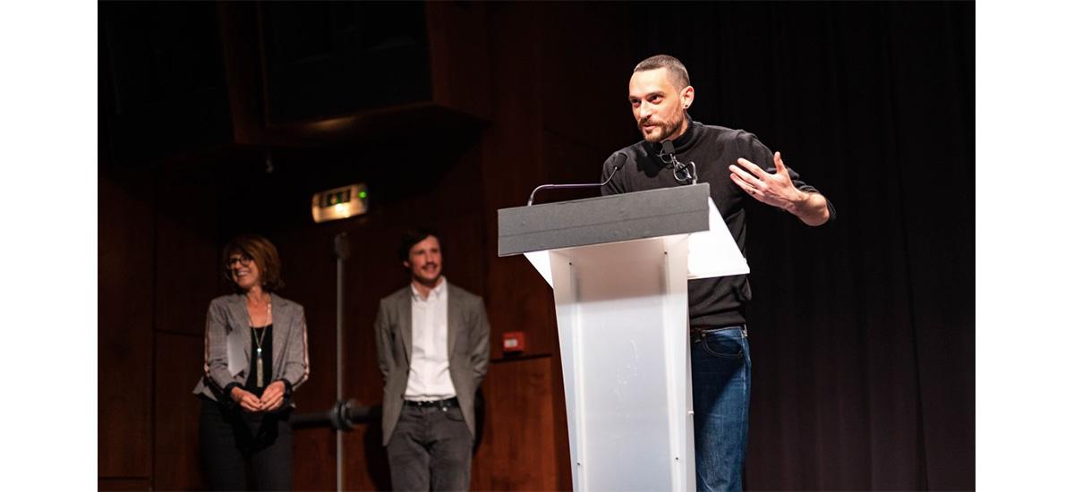 Florian Gaité, lauréat du Prix AICA France 2019
