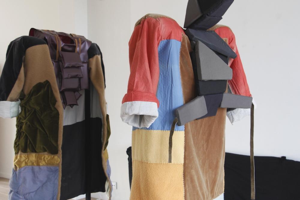 Vue d'exposition Jot Fau, Perdre la face ou faire bonne figure - In-box Bruxelles