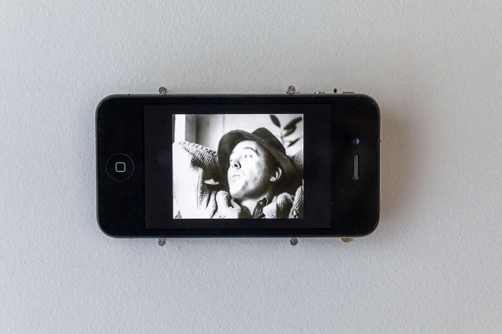 Andy Warhol, Eat, 1963. Vidéo 45'  - Courtesy Andy Warhol Foundation - Photo Romain Darnaud