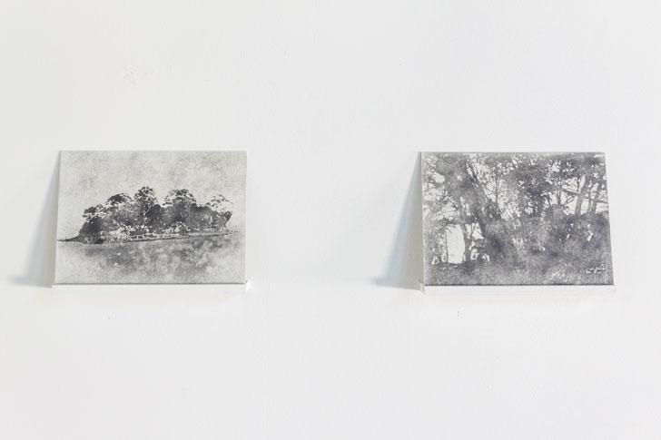 vue de l'exposition Nicolas Daubanes, « Le Hasard vaincu ».  Photo Cécilia Philippe/ Les Ateliers Vortex