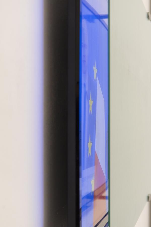 Nicolas Milhé, vue de l'exposition Yougoslavie -Silicone Bordeaux