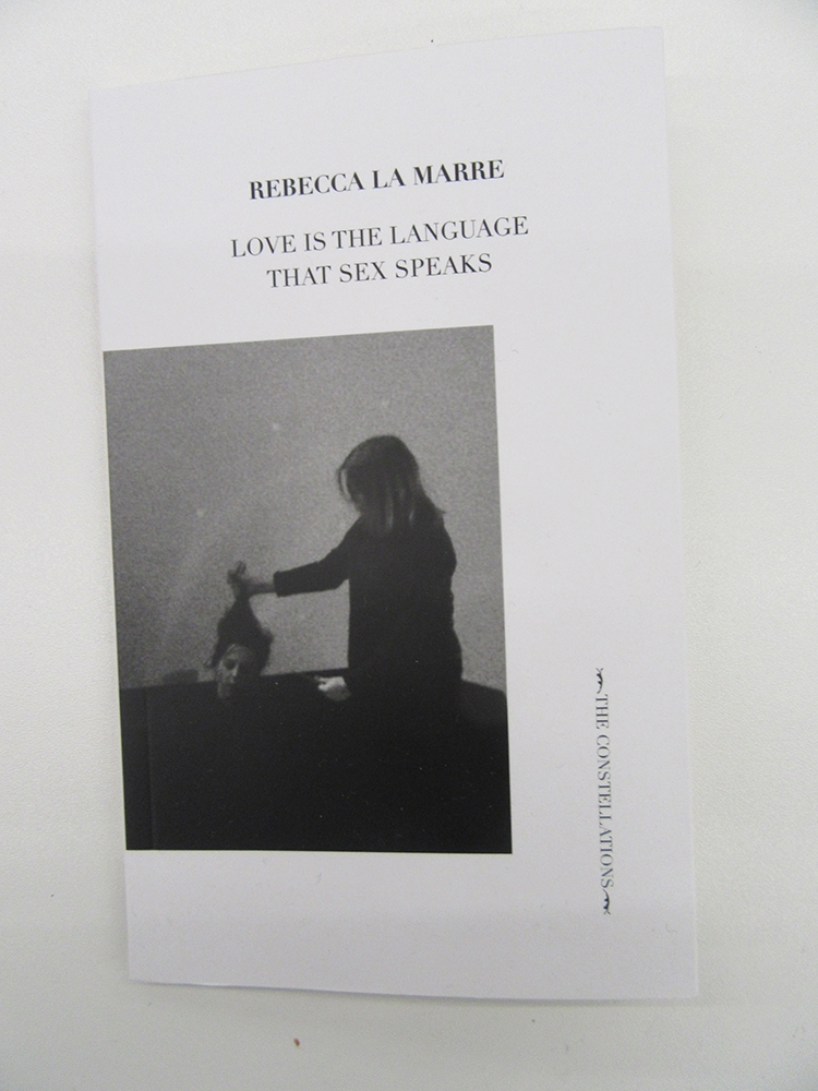 Rebecca La Marre, Love is the Language that Sex Speaks