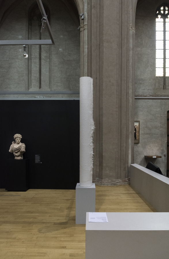 Clara Villier, Les Invertébrés, 2019. Vue exposition mimesis des étudiants de l'isdaT au Musée des Augustins Toulouse