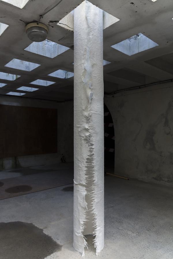 Clara Villier, Les Invertébrés, 2019. Vue exposition mimesis des étudiants de l'isdaT au Réservoir Toulouse