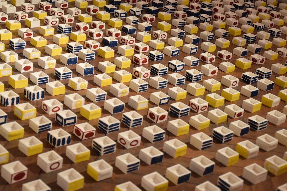 Sirine Ammar, vue d'exposition La possibilité d'un relief galerie du CROUS Paris - Photo Mélodie Lapostelle