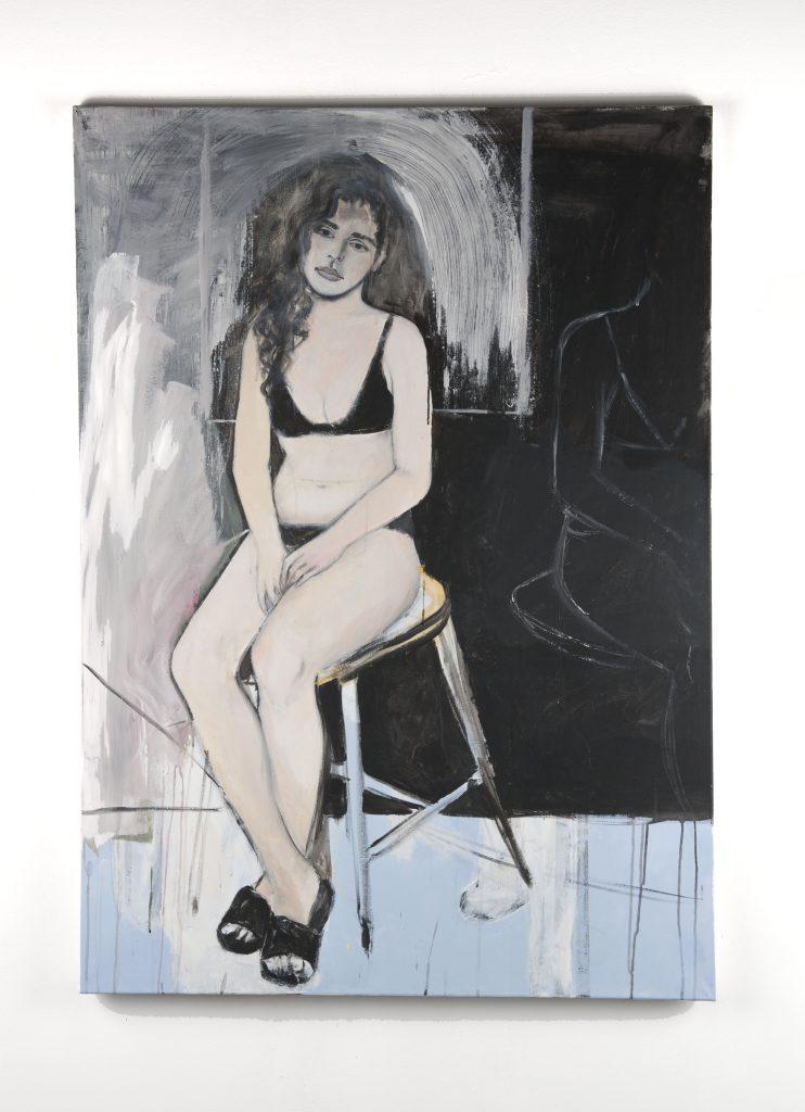 Laura, 2019 Peinture acrylique sur toile, 145cm x 100cm
