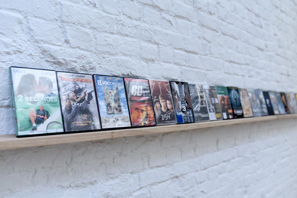 """Vue d'exposition """"Le Facteur (temps) sonne toujours deux fois"""" du 22 juin au 21 juillet 2019 Delta Studio, Roubaix"""