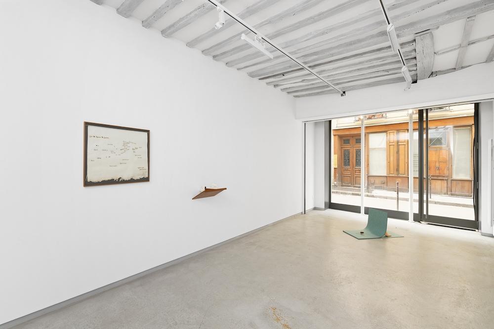 vue d'exposition, Fallimagini & géographies sentimentales, 2019 courtesy Guillaume Constantin, Galerie Bertrand Grimont image : Aurélien Mole