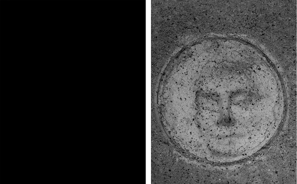 Annabel Aoun Blanco, Éloigne moi de toi, diptyque, tirages Fine Art contrecollés sur dibond noir, 40x31,6 cm chaque, 2017 © Annabel Aoun Blanco