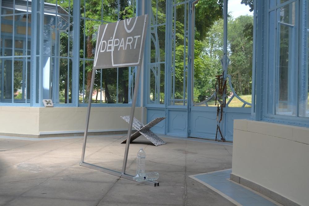 Pauline Lecerf  Histoire de l'identité visuelle de la Nièvre de 2001 à 2011, 2019 2 panneaux montage aluminium