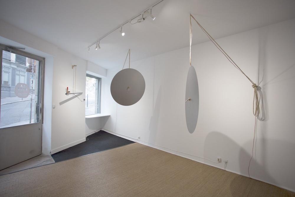Ludovic Landolt, exposition De Tintinnabulis, Kommet Lyon. Photo Aude Couvercelle
