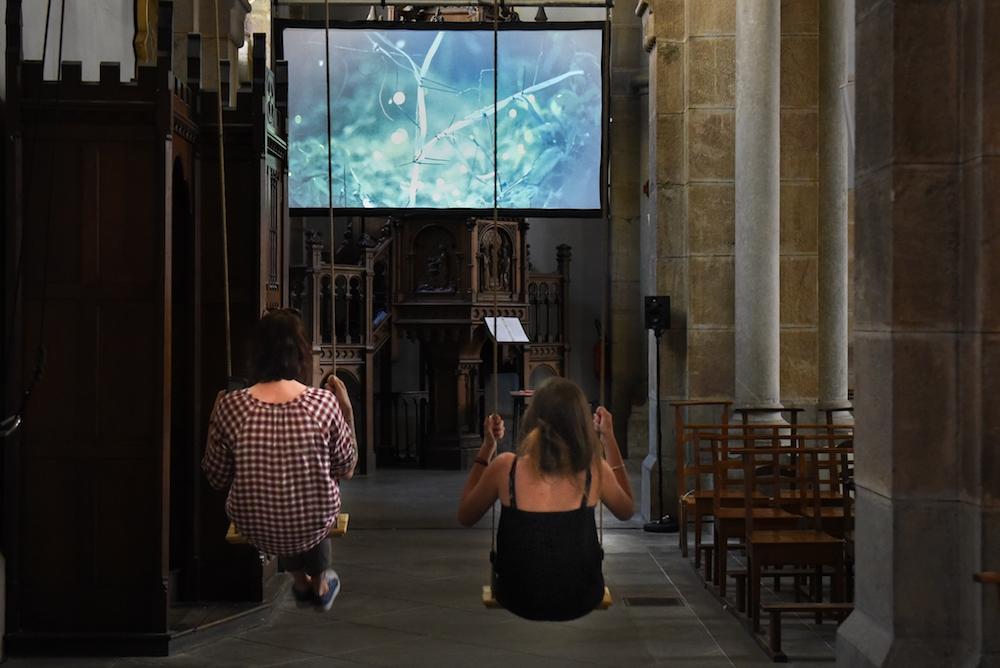 Robin Meier, installation sonore Sinchronicity