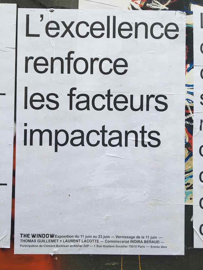Thomas Guillemet et Laurent Lacotte, « IL EST URGENT QUE LE PRO_GRÈS PRO_GRAMME » Photo Point contemporain
