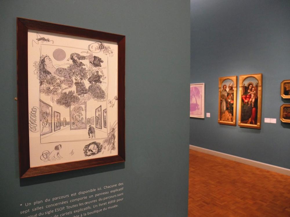 """Exposition """"Et si on parlait d'art"""" de Vincent-Michaël Vallet du 27 avril au 03 novembre 2019 au Musée des Beaux-arts de Rennes"""