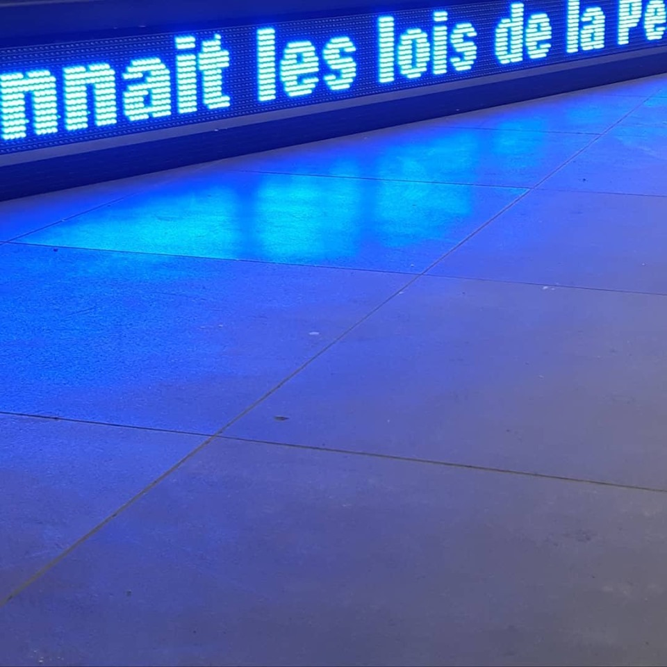 Vue de l'exposition Gravity³, solo show de Sadek Rahim au MAMO, Musée national d'Art Moderne et contemporain d'Oran Photo Florian Gaité